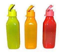 Plastic Freshness Preservation Tupperware Kids Water Bottle, Capacity: 500 Ml-1 L