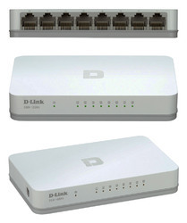 D- Link 8 Port Ethernet Switch