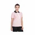 Plain Ladies Polo T-Shirt
