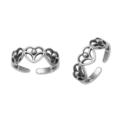 SHTR0053 925 Sterling Silver Toe Ring