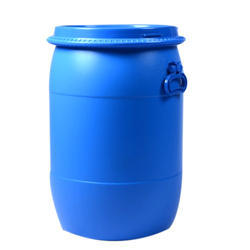 Blue Mitsu Chem 50 Ltr HDPE Full Open Top Drums