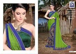 Rachna Chiffon Sakhi Catalog Saree Set For Woman 5