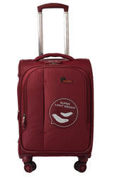 F Gear Aspire Polyester 73 cms Maroon Softsided Check-in Luggage (2760)