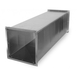Airmake Rectangle GI Duct for Industrial, Thickness: 2-5 mm