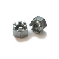 Mild Steel Hex Castle Nut