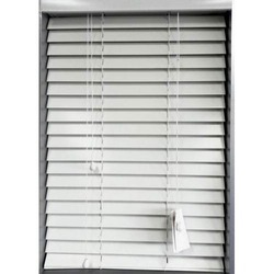 White PVC Venetian Window Blind, Thickness: 1 mm