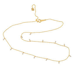 18kt Gold and Diamond Designer Necklace