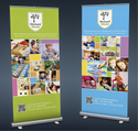 Roll Up Standee Service