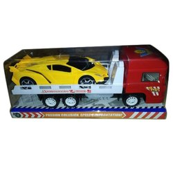 Plastic Truck Trailer Toy, Child Age Group: 4 - 9 Years