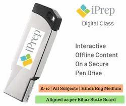 Hindi And English Medium Digital Content For Smart Class As Per Bihar Board. K-12. All Subjects