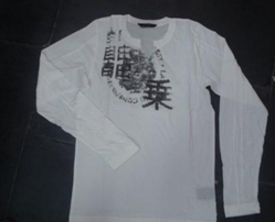 Printed Mens Wear White Kurta