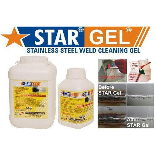 Weld Cleaning Chemical For Stainless Steel Star Gel