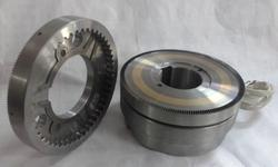 Electromagnetic Bearing Mounted Toothed Clutch