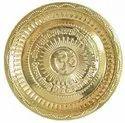 Brass Pooja Plate