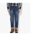 Red Chief Blue Straight Fit Jeans With Washed Whiskered Effect
