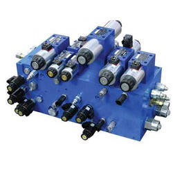 Polished Hydraulic Manifold Block, For Industrial, Up To 500 Bar