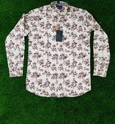 Printed Long Sleeve Branded Designer Shirts