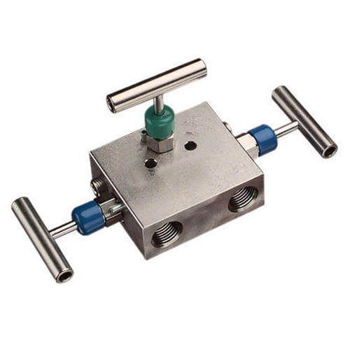 Stainless Steel 3 Way Manifold Valve