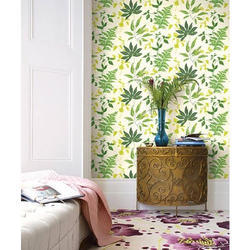 Vinyl Flower Printed Wall Covering