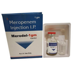 Meropenem Injection Ip (merodel 1g)