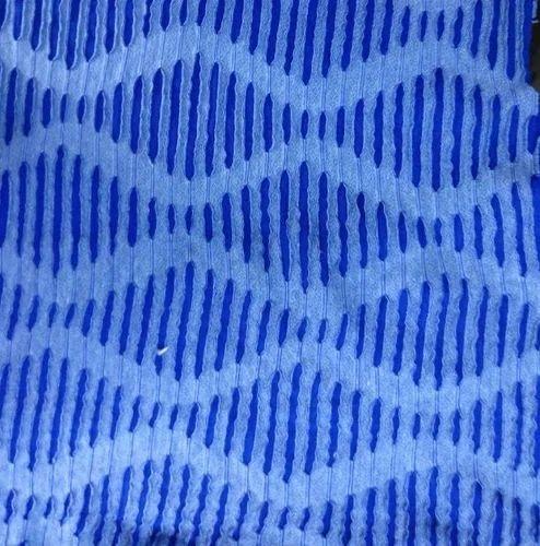 Blue Fatila Jacquard Fabric