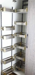 PFS-101 Stainless Steel Satin Pantry