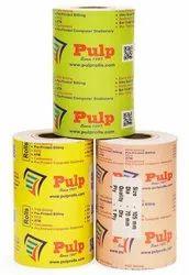 Width: 105 mm Dia: 70 mm 1 Ply PULP Dot Matrix Rolls