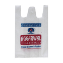 W Cut Printed Recyclable Non Woven Carry Bag