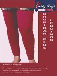 Plus Size Churidar 4 Way Stretch Leggings
