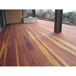 Trusa Brown Ipe Wooden Flooring, for Indoor
