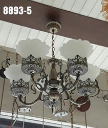 8893 Antique Chandelier