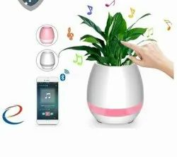 Flower pot bluetooth speaker