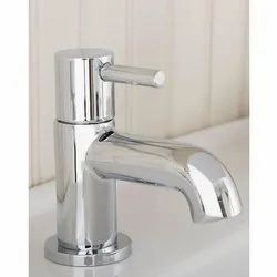 Chrome Plated Stainless Steel Basin Tap, For Kitchen, 300 G