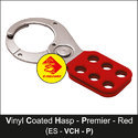 Premier Vinyl Coated Lockout Hasp