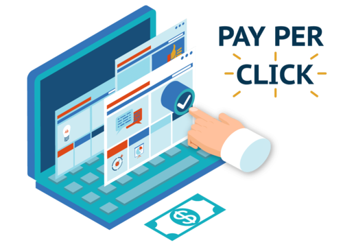 Image result for Pay per click