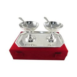 Stainless Steel German Silver Gift Set