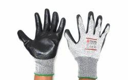 Dyneema Cut Level-5 Mar Vet Cut Resistant Gloves, Size: Medium
