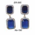 Blue Designer Earring