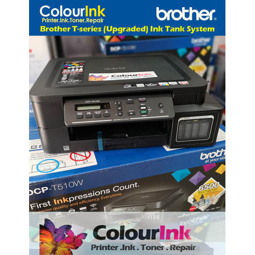 Brother Dcp T500w All In One Wireless Ink Tank Colour Printer