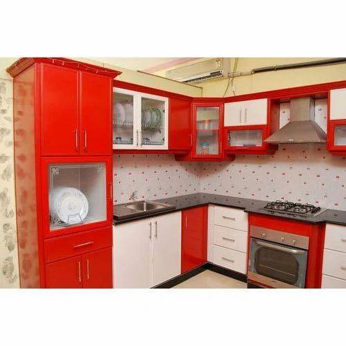 Modular Kitchen Size: 10' X 8' Designer Modular Kitchen, Rs 80000 /unit, Get Set