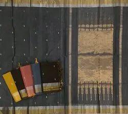 Casual Wear Silk Cotton Chanderi Sarees