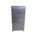 Pharma Stainless Steel Visitor Apron Cabinet