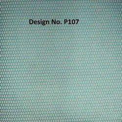 P107 Non Woven Metallic Printed Fabric