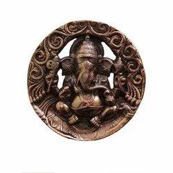 Round Ganesh Statue