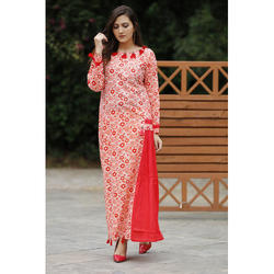 Cotton Ladies Long Dress