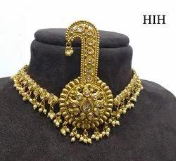 Sikh Turban Men Golden Color Beautiful Turban Kalgi