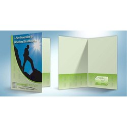 Printed A4 Presentation Folder, Packaging Type: Packet