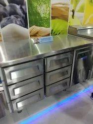 6 door front under counter drawer freezer or cooler, Model Name/Number: Blue Star