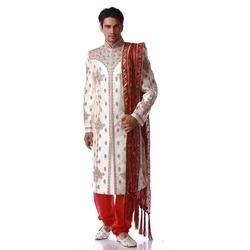 Wedding Cotton Mens Sherwani