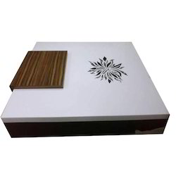 White Corian Coffee Table A